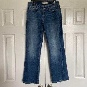 Levi's Curvy Boot Cut Jeans